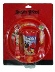 5-Piece Angry Birds Toddler Dinnerware Set