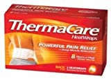Thermacare Lower Back & Hip Heatwraps, L/Xl, 8 Hour-2Ct