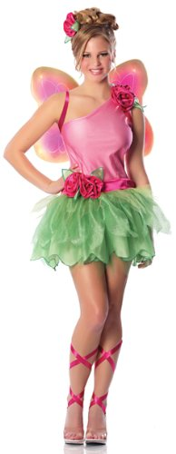 Delicious Women's Rose Fairy Sexy Costume