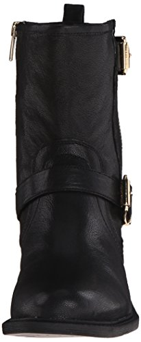 Vince Camuto Women's Roadell Motorcycle Boot, Black, 8.5 M US