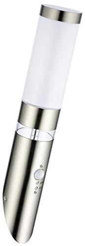 Edelstahl-LED-Auenwandleuchte-Sonderangebot-des-Monats-Wandleuchte-Lisa-1-mit-Hauptlicht-und-Grundlicht-und-Bewegungsmelder-Auenlampe-Auenleuchte
