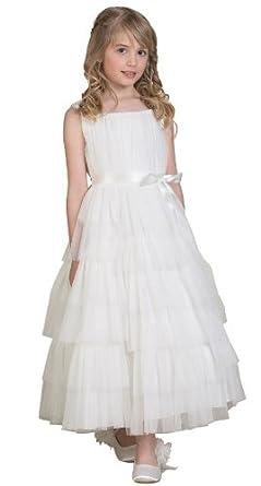 Paisley of london girls ivory dress girls communion dress girls