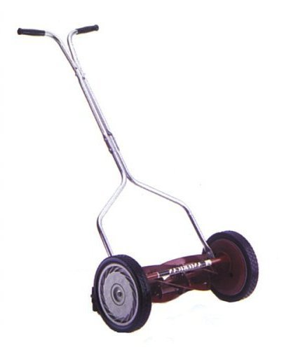 American Lawn Mower 1404-16 16-Inch Standard Push Light Reel Lawn Mower With T-Style Handle