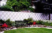 Chain Link Privacy Screening and Inserts - Diagonal Inserts - Aluminum Slats - 3 1/2 Ft. High-Black