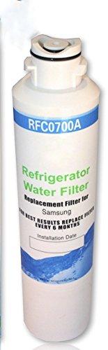 Rfc-700A Compatible Water Filter For Kenmore--46-9101 ; 469101 ;9101 Samsung---Da-97-08006A ; Da-97-08006A-B ; Da-97-08006B ; Da29-00019A ; Da29-00020A ; Da29-00020B; Da2900019A ; Da2900020A ; Da2900020B ; Da97-08006A-B ; Aqua Fresh--- Wf-294 Water Sentin front-449161