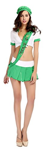 AvaCostume Womens Germany Beer Girl Costumes Hot Sexy Clubwear