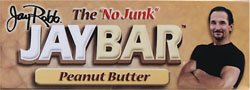 Jay Robb The No Junk Jaybar Peanut Butter -- 12 Bars
