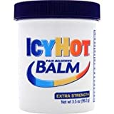 Icy Hot Extra Strength Pain Relieving Balm, 3.5-Ounce Jars (Pack Of 4)