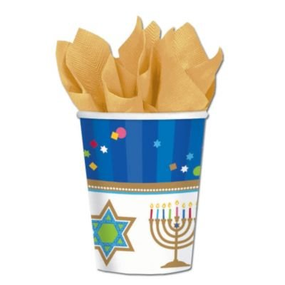 Hanukkah Celebrate 9 Oz. Cups - 1