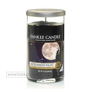 Yankee Candle Perfect Pillar Glass Candle - Midsummers Night