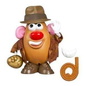 Indiana Jones games: Mr Potato Head Taters of the Lost Ark!