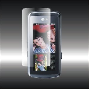 Izzibuyer Transparent Screen Protector for LG KF600 Venus - Set of 2 Transparent Screen Protectors