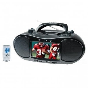 Naxa Ndl-254 7 Tft Lcd Display Portable Dvd Player With Am/Fm Stereo Radio, Usb Input, Sd/Mmc Card Slot & Ac/Dc Power