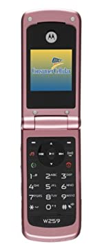 Motorola Unlocked Phone: Motorola W259 Pink with Consumer