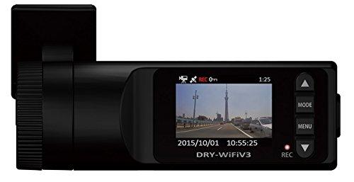 ユピテル(Yupiteru) 衝撃センサー/GPS/HDR搭載 スマートフォン連動ドライブレコーダー DRY-WiFiV3c