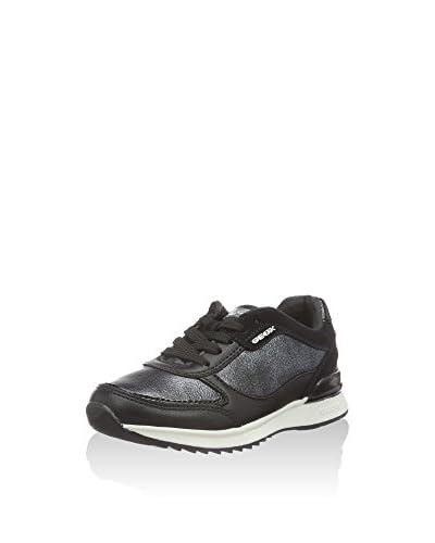 Geox Sneaker J Maisie Girl B  [Nero]