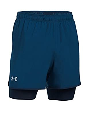 Under Armour Short Entrenamiento Ua Qualifier 2 (Azul Petróleo)