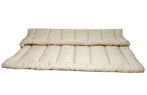 Cheap Sleep Beyond 78 by 80 Inch Organic Merino Wool Mattress Topper King  Ivory c45698bcb