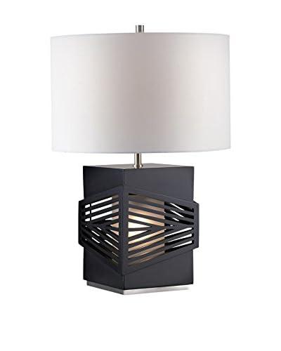 Nova Lighting Redact Table Lamp, Dark Brown