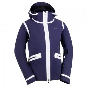 Kjus Ladies SAPPHIRE Jacket, Damen-Skijacke Atlanta Blue-White 40
