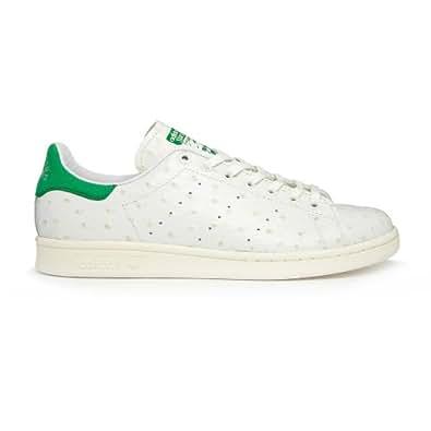 adidas Consortium Stan Alone Stan Smith Ostrich Leather White/Bone/Fairway M22242 (SIZE: 11.5)