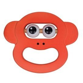 Melissa & Doug: Monkey Face Rattle - 1
