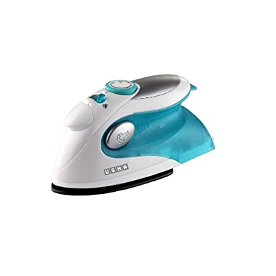 Usha Techne 500 1000-Watt Steam Iron (White and Blue)