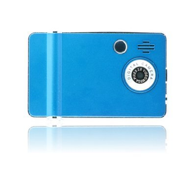 Ematic 4GB Video MP3 Player with 2.4-Inch QVGA Screen, Digital Camera and Video Recorder (Blue)