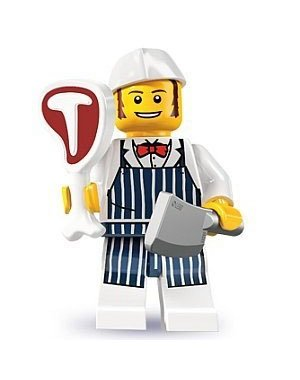 Lego Minifigures Series 6 - Butcher - 1