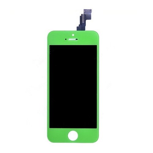 Amh Replacement Touch Screen Digitizer And Lcd Display Assembly & Amh Customized Opening Tools For Iphone 5C Model A1532/A1507/A1529/A1456 (Green)