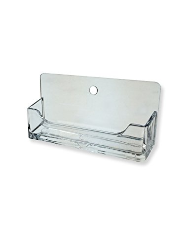 Marketing Holders Single Pocket Wall Mount Business Card Holder display (Wall Display Cards compare prices)