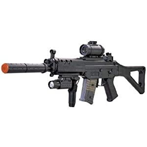 BBTac Airsoft Gun M82 Fully Automatic AEG Electric Rifle Fully Loaded