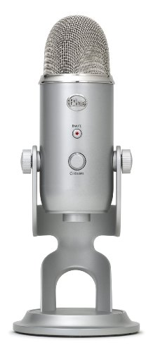 Blue Microphones Yeti Stereo/Cardioid/Omnidirectional/Biodirectional USB Microphone