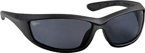 Bobster Zulu Ballistics Eyewear, Matte Black Frame,Anti-Fog Smoked Ezul001