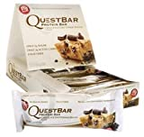Quest Nutrition Protein Bar Chocolate Chip Cookie Dough Flavor, 2.12 oz,12 Count