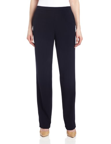Briggs New York Women's All Around Comfort Pant,Navy,1