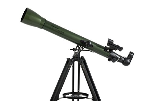 Read About Celestron National Park Foundation ExploraScope 60AZ 2.4 f/12 Alt-Az Refractor Telescope...