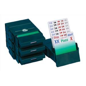 bridge-partner-bridge-boxes-for-bidding-green-set-of-4-with-bidding-cards
