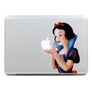 【白雪姫 ノーマルver. Mac book Air 13インチ 対応 ステッカー】