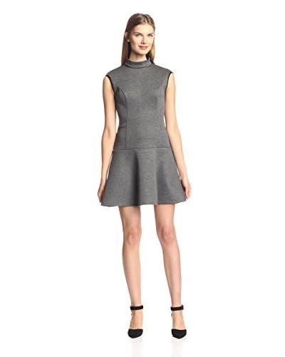 A.B.S. by Allen Schwartz Women's Turtleneck Scuba Dress