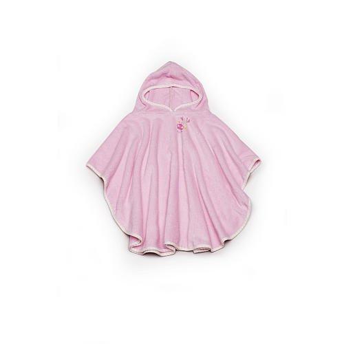 FAO Schwarz Baby Girls' Pink Cuddly Bath Pullover - 1