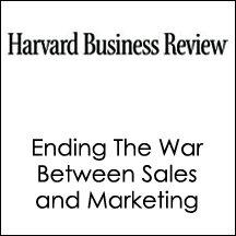 HBR: Ending The War Between Sales and Marketing (       UNABRIDGED) by Philip Kotler, Neil Rackham, Suj Krishnaswamy, Harvard Business Review