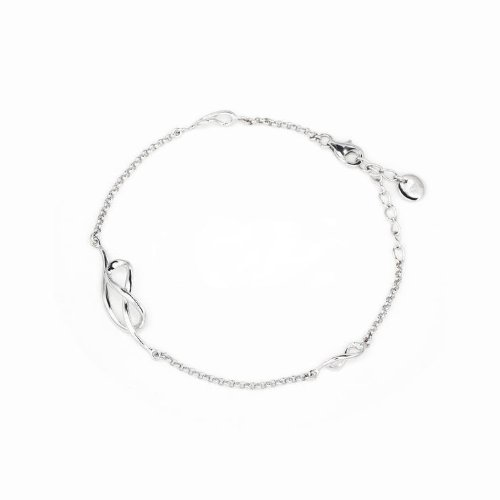 Platinum Plated 925 Sterling Silver Infinity