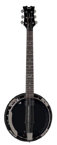 Dean Guitars Backwoods 6 Banjo With Pickup (Black Chrome)