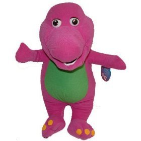 """Barney The Dinosaur 9"""" Plush Figure Doll Toy front-987287"""