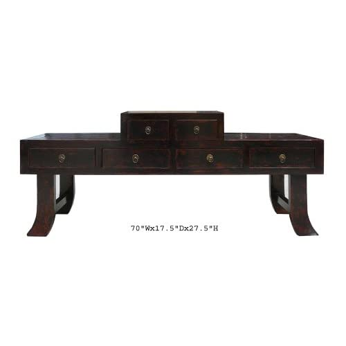 Chinese Ming Style Prayer Altar Console Table TV Cabinet - Sofa Tables