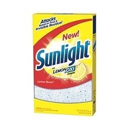 Dishwashing Detergent, 75 oz., Lemon, PK 8