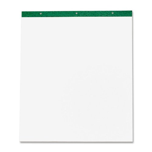 Esselte Corporation Recycled Easel Pad, Plain, 50 Sheets, 20