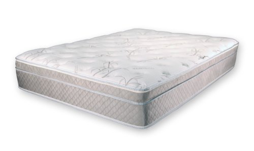 Best Review Of Ultimate Dreams Cal King Eurotop Latex Mattress
