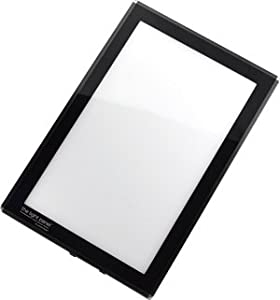 Porta-Trace LED Light Panel, Black Frame, 8-1/2-by-11-Inch
